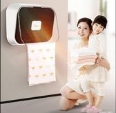 暖風機 美的暖風機浴室取暖器家用節能防水速熱神器壁掛式衛生間迷你小型【快速出貨八折下殺】