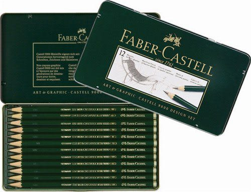 Faber-Castell輝柏 119064 素描鉛筆9000高級鉛筆 / 盒