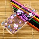 【Hello Kitty】HTC One A9 彩繪透明保護軟套