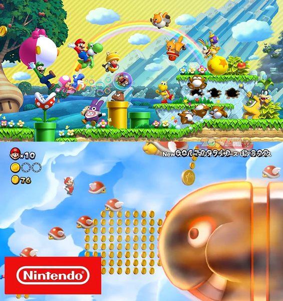 NS New 超級瑪利歐兄弟 U 豪華版 路易吉 中文版 Switch Super Mario Bros U Deluxe