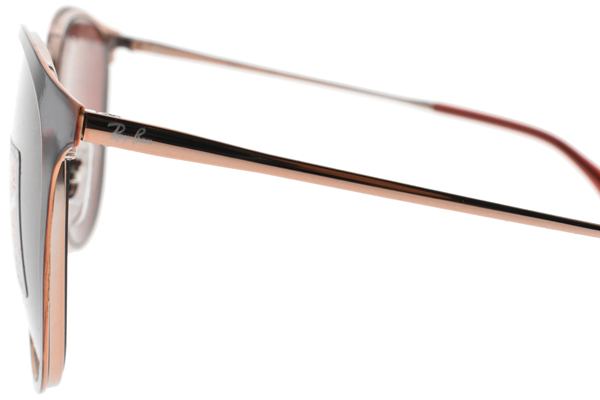 RayBan 太陽眼鏡 RB3539 913375 (琥珀紅-紅鏡片) 質感潮流琥珀款 墨鏡 # 金橘眼鏡