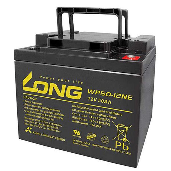 廣隆 LONG 12V 50Ah 電池 WP50-12NE 代步車 電動車 鉛酸【康騏電動車】專業維修批發零售