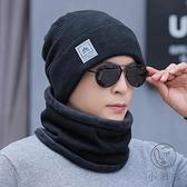 帽子男士冬天加厚保暖針織毛線帽棉帽秋冬季加絨【小酒窩服飾】