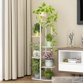 花架子多層室內家用陽台裝飾架鐵藝客廳省空間花盆落地式綠蘿 韓慕精品 YTL