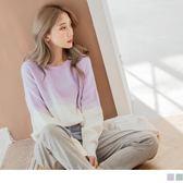 《FA1803-》粉嫩色系親膚柔軟針織毛衣 OB嚴選
