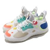 adidas 籃球鞋 Harden Vol. 5 Futurenatural 白 彩色 男鞋 哈登 5代 【ACS】 FZ1071