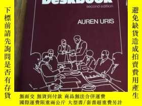 二手書博民逛書店Executive罕見DeskbookY12800 Auren