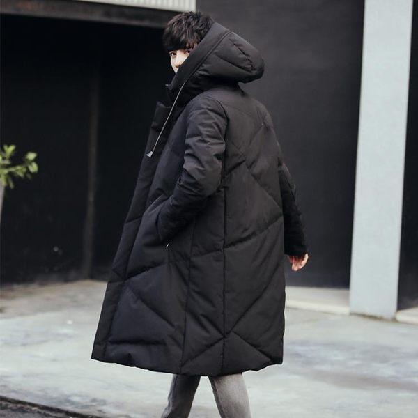 冬季加厚中長款棉衣男過膝加大碼羽絨棉大衣韓版潮流保暖棉襖外套 挪威森林
