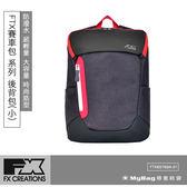 FX CREATIONS 後背包 FTX賽車包系列 賽車包69款(小) 筆電雙肩包 黑色 FTX69769A 得意時袋