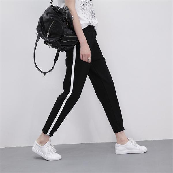【1111-0427】單線薄款寬鬆學生休閒運動褲 (M/L/XL/2XL)