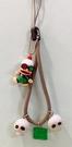 【震撼精品百貨】Curious George _好奇的喬治猴 ~日本喬治猴 手機吊飾/鑰匙圈-骷顱頭#02321