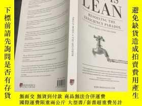 二手書博民逛書店This罕見is Lean: Resolving the Efficiency ParadoxY225426