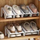 簡易家用經濟型鞋架 塑料收納整理架簡約雙層多功能LJL-1324