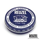 REUZEL Fiber Pomade 深藍豬強力纖維級水性髮泥 35g