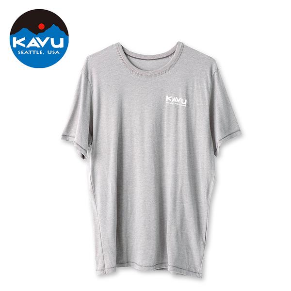 西雅圖 KAVU Wildlife Division 棉質 T-Shirt 煙灰 #8043
