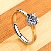 促銷款小C推薦 925銀正韓時尚婚戒食指指環禮物