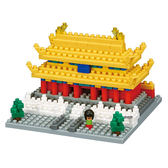 《Nano Block迷你積木》【世界主題建築系列】NBH - 145 紫禁城 ╭★ JOYBUS玩具百貨