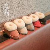 兒童鞋 兒童雪地靴棉靴防水防滑中大男女童鞋加絨保暖