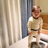 兒童保暖內衣棉毛衫純棉高腰護肚睡衣冬加厚嬰兒寶寶秋衣秋褲套裝 夏季新品