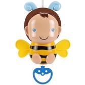 新生兒童玩具萌寵小蜜蜂音樂拉拉鈴寶寶童車安撫玩具音樂床頭掛鈴【快速出貨】