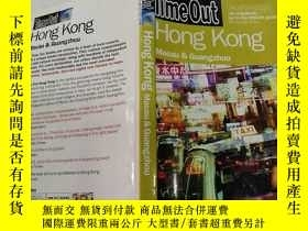二手書博民逛書店Time罕見Out Hong Kong(香港時間)外文版Y200