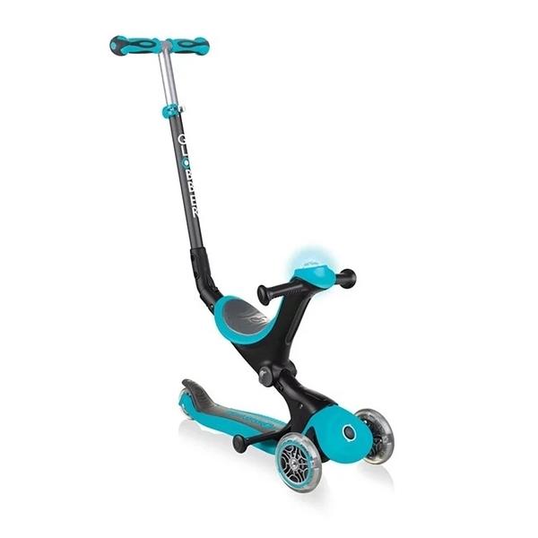 Globber 哥輪步 GO•UP 5合1豪華版滑板車(聲光版)-馬卡藍[衛立兒生活館]