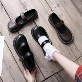 JK鞋 JK制服文藝復古平底女鞋森女日系瑪麗珍單鞋圓頭學院風chicJK鞋 夏季上新
