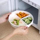 微波爐專用湯碗飯菜加熱碗大號圓形帶蓋塑料湯盒泡面碗熱飯盒蒸盒 快速出貨