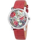 梵谷Van Gogh Swiss Watch梵谷經典名畫女錶 Lady 15 紅花