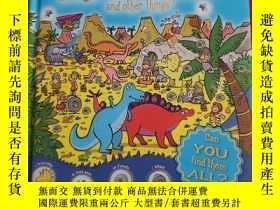 二手書博民逛書店Whos罕見Hiding: Can You Find 1001 Dinosaurs & Other Things奇