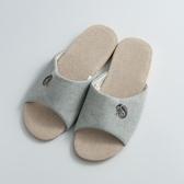 KENROLL科柔净色布麻拖鞋 新四季亚麻棉麻 室内居家开口夏季防滑