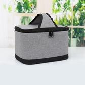 帶飯包午餐便當包鋁箔時尚加厚保溫飯盒袋大號飯盒袋 手提袋