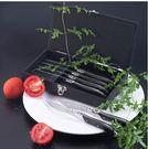 西餐餐具主餐刀高檔木柄牛排刀叉法國Laguiole西餐刀叉TLS302-BB