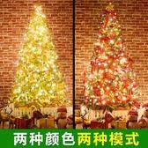 聖誕樹1.2 米加密豪華聖誕樹套餐聖誕節裝飾品 igo 薔薇時尚