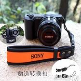 相機手腕帶索尼微單A6000手繩佳能M50M100單反手帶腕帶潛水料 聖誕節全館免運