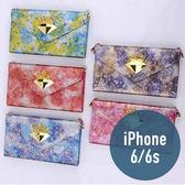 Apple iPhone 6 / 6S 星皇貴族皮套 附手繩 三折 插卡 側翻皮套 手機套 殼 保護套 配件