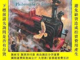 二手書博民逛書店Harry罕見Potter and the Philosopher s Stone【精裝】Y219395 J.