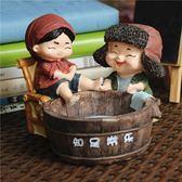 喜慶知足常樂可愛個性創意帶蓋家用煙灰缸裝飾擺件送男友老爸禮品 薔薇時尚