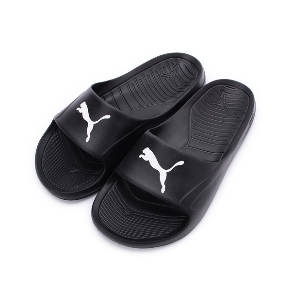 PUMA DIVECAT 一體成形套式拖鞋 黑白 360274-02 女鞋