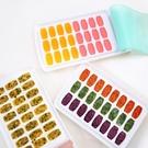 製冰格 創意帶蓋寶寶輔食盒冷凍格冰格硅膠蓋塑料制冰盒24格分格冰塊模具 小宅妮
