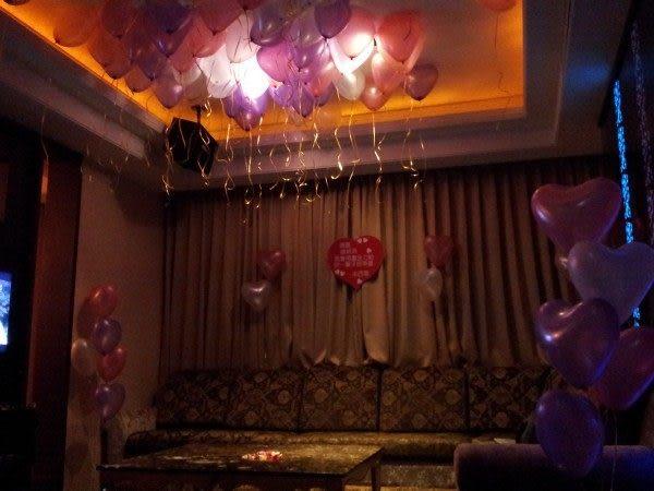 情意花坊網路花店~求婚求愛必備商品~99朵感動玫瑰佈置+氣球佈置特惠網友4999元