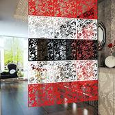 掛式屏風隔斷時尚客廳玄關門掛式屏風窗花時尚牆貼掛牆貼wy