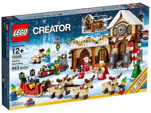 樂高積木 10245 CREATOR 聖誕老人工作室 ( LEGO Santa s Workshop )