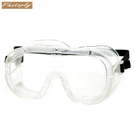 又敗家@台灣PHOTOPLY氣密式安全眼鏡180度透明防飛沫眼罩PG-169(鬆緊帶加固)防塵眼罩警察消防護眼罩