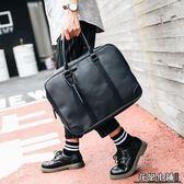 公事包  潮流時尚休閒電腦包商務男包文件包時尚皮質男士手提包公事包