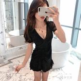 新款裙子顯瘦性感小個子流行中長款收腰氣質洋裝女夏天 伊芙莎