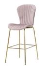 【南洋風休閒傢俱】吧台椅系列-薇妮布吧檯椅 酒吧椅 高靠背椅 造型椅 玫瑰金時尚椅 CM1077-1-2