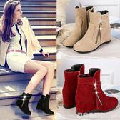 靴子女新款薄馬丁靴英倫風百搭學生秋季短靴女春秋單靴網紅靴  居家物語