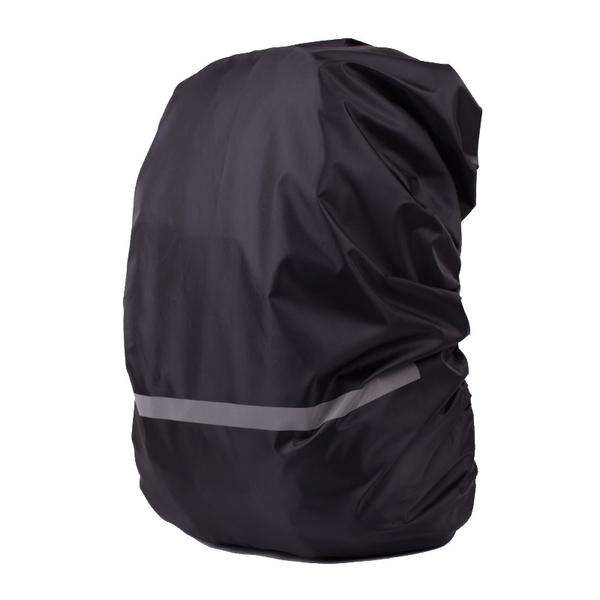 [7-11今日299免運] S 反光背包罩 防水套 防塵罩 防雨罩 戶外背包罩 反光條(mina百貨)【H066】
