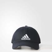 adidas 帽子 6P Cap Cotton 帽子 黑 白 男女款 老帽 棒球帽 經典 基本款【PUMP306】 S98151